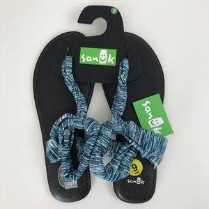 New Sanuk Yoga Sling Ella Yoga Mat Sandals size 9